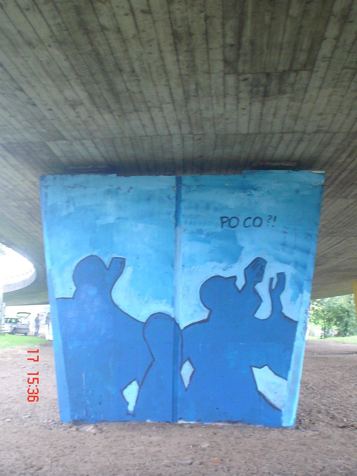 Po co? / Mural Festival 2008, Gdańsk