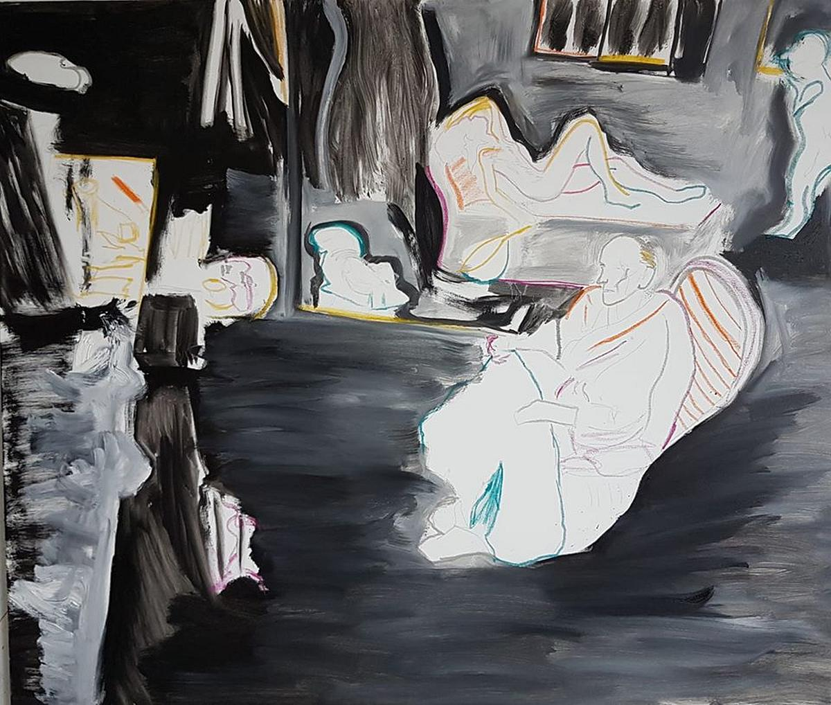 szwabe_malarstwo_balthus-podczas-pracy-pracownia-w-rossniere-130-na100-olej-na-pltnie_www
